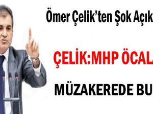 Çelik: MHP Öcalan İle Müzakerede Bulundu