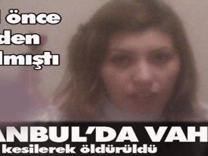 İstanbul'Da Vahşet Boğazı Kesilerek Öldürüldü