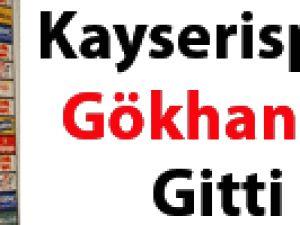 Kayseri'de Gökhan Ünal gitti