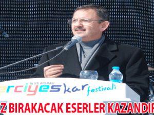 """""""TARİHE İZ BIRAKACAK ESERLER KAZANDIRIYORUZ"""""""