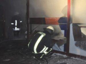 Kayseri'de Ekmek Teknesi Yandı