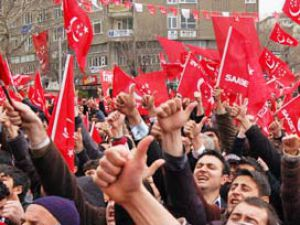 "Saadet Partisi'nden ""NATO'ya Hayır"" eylemi"