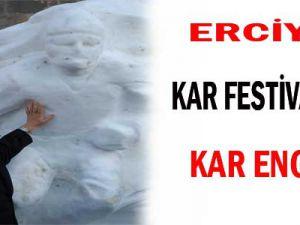ERCİYES KAR FESTİVALİ'NE KAR ENGELİ