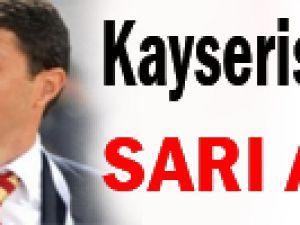 Kayserispor'da SARI Alarm