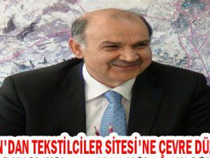 KOCASİNAN'DAN TEKSTİLCİLER SİTESİ'NE ÇEVRE DÜZENLEMESİ