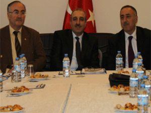 Bölgesel Çalışma Toplantısı  Kayseri Ticaret Odası'nda yapıldı