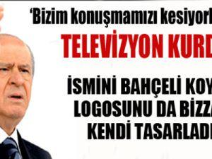 MHP TV kurdu logosu Bahçeli'den