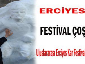 ERCİYES'TE FESTİVAL COŞKUSU
