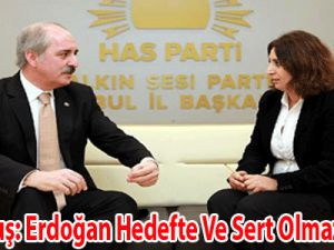 Kurtulmuş: Erdoğan hedefte ve sert olmalı!