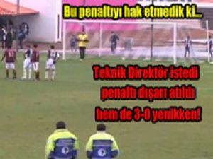 Haksız Kazandığı Penaltıyı Dışarı Attı/Video