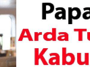 Papa, Arda Turan'ı kabul etti