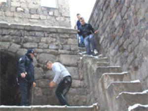 Kayseri'de Seyir Keyfine Polis Müdahalesi