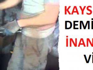 KAYSERİLİ DEMİRCİDEN İNANILMAZ ŞOV/VİDEO