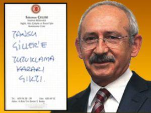 Kılıçdaroğlu'na Gaf Yaptıran O Not/Video