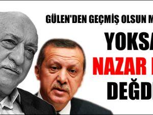 Gülen'den Erdoğan'a geçmiş olsun mesajı