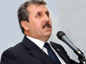 BBP'den Erdoğan'a geçmiş olsun mesajı