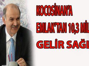 KOCASİNAN'A EMLAK'TAN 10,3 MİLYON LİRA GELİR SAĞLADI