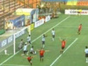 Bir Dakikada 2 Gol Attı! / VİDEO