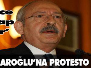 Kılıçdaroğlu'na Protesto Şoku!
