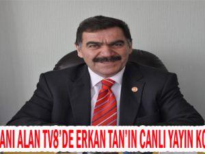 KESOB BAŞKANI ALAN ESNAFIN DURUMUNU TV8'DE DEGERLENDİRDİ