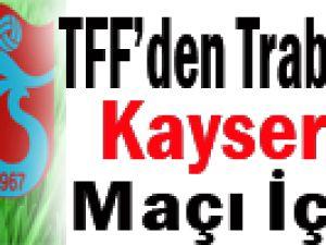 Trabzonspor'un Kayserispor Maçı Erteleme İsteği Kabul Edilmedi