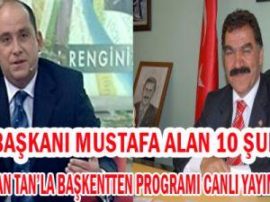 Kesob Başkanı Alan Tv 8'de Erkan Tan'la Başkentte Konuğu