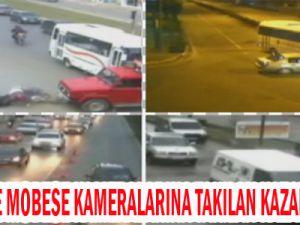 KAYSERİ'DE İNANILMAZ KAZALAR MOBESE KAMERLARINDA/VİDEO