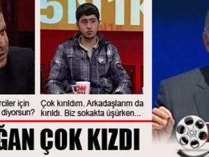 Erdoğan, Cüneyt Özdemir'e Çok Kızdı VİDEO