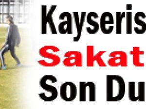 Kayserispor'da Sakatların Son Durumu