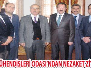 MAKİNA MÜHENDİSLERİ ODASI'NDAN NEZAKET ZİYARETLERİ