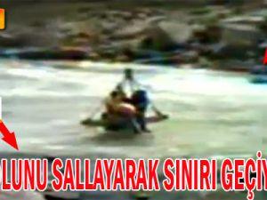 PKK, Irak Sınırından Böyle Sızıyor' Video