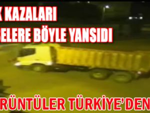 Burası Türkiye Mobese'de Dehşete Düşüren Kazalar/VİDEO