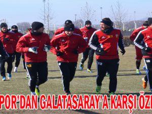 GALATASARAY'A KARŞI ÖZEL ÖNLEM