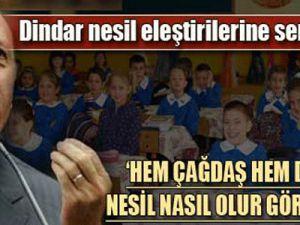 Erdoğan: Biz öğrenci Formatlamıyoruz