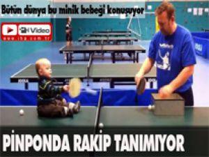 Pinponda Rakip Tanımıyor (Video)