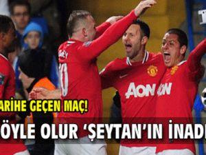 Manchester United Chelsea- Manu 3-0'dan Süper Dönüş Yaptı/ Video