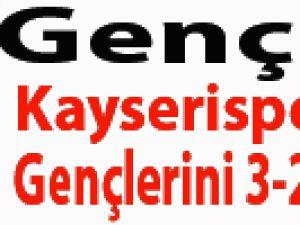 Gençler Kayserispor'un Gençlerini 3-2 Yendi