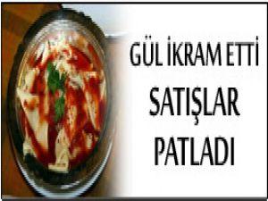 Gül Kastamonu yemeği ikram etti