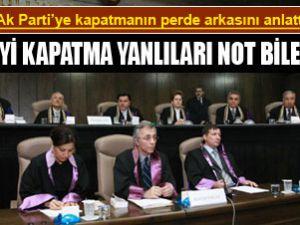AK Parti Davasının Perde Arkasını Anlattı