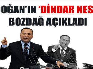 Erdoğan'ın sözlerine tevil Bozdağ'dan!