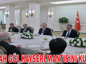 Abdullah Gül Kayseri Mantısını Küstürdü