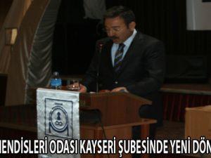 TMMOB MAKİNA MÜHENDİSLERİ ODASI KAYSERİ ŞUBESİNDE YENİ DÖNEM BAŞLADI