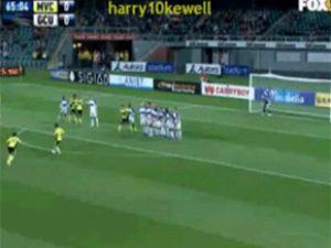 Harry Kewell'dan Juninho frikiği /video