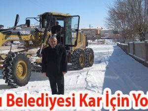 İncesu Belediyesi Kar İçin Yollarda