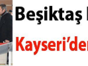 BEŞİKTAŞ KAFİLESİ KAYSERİ'DEN AYRILDI