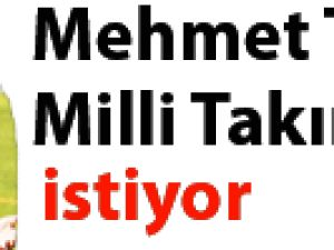 Mehmet Topuz Milli takımı istiyor