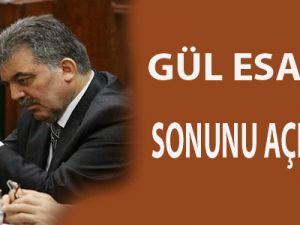 Gül, 'Esad'ın sonu'nu açıkladı
