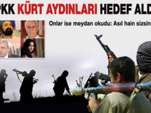 PKK Kürt aydınları hedef aldı