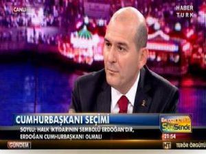 Süleyman Soylu: Erdoğan Cumhurbaşkanı Olmalı