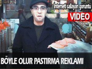 İnterneti Sallayan Pastırma Reklamı!..Video